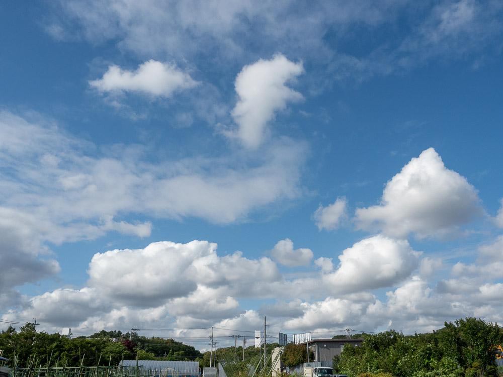 プカプカ雲